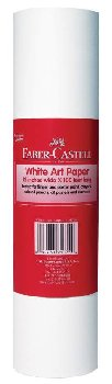 "White Art Paper Roll 12"" x 100'"