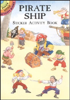 Pirate Ship Small Format Sticker Activity Book