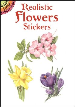 Realistic Flowers Stickers