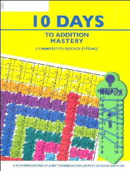 10 Days to Addition Mastery Set (Wrap-Ups, Book & CD)