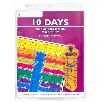 10 Days to Subtraction Mastery Set (Wrap-Ups, Book & CD)