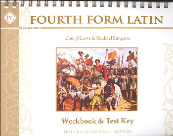 Fourth Form Latin Workbook & Test Key