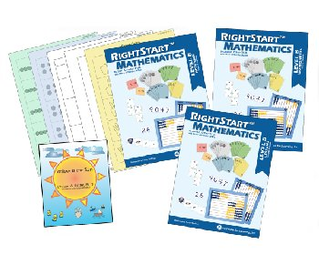 RightStart Mathematics Level B Book Bundle 2nd Edition