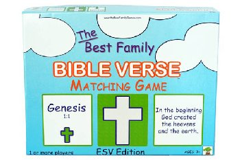 Best Family Bible Verse Matching Game: ESV Edition