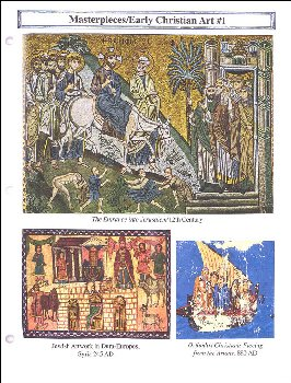 Classical Approach Masterpiece Cards Course III Early Christian Art