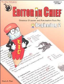 Editor in Chief Beginning 2