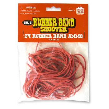 Rubber Bands for Rifles (package of 24)