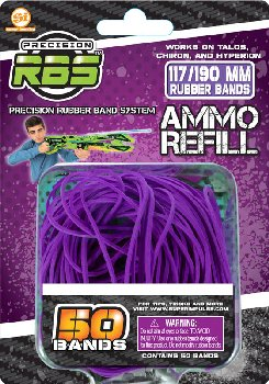 Precision Rubber Band System Rubberband Refills #117B