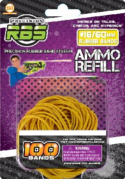 Precision Rubber Band System Rubberband Refills #16