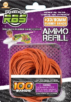 Precision Rubber Band System Rubberband Refills #33