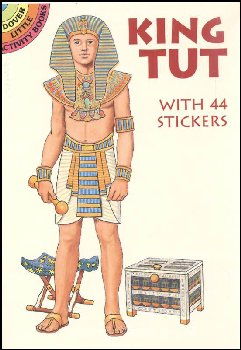 King Tut Sticker Paper Doll