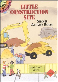 Little Construction Site Sticker Acty Book