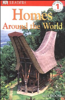 Homes Around the World (DK Reader Level 1)