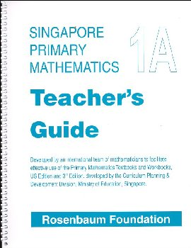 Primary Math US 1A Teacher Guide