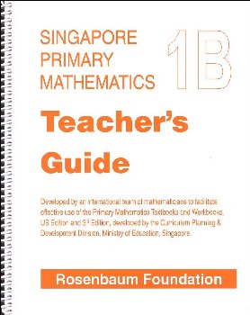 Primary Math US 1B Teacher Guide