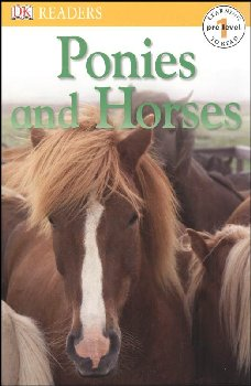Ponies and Horses (DK Reader Pre-Level 1)