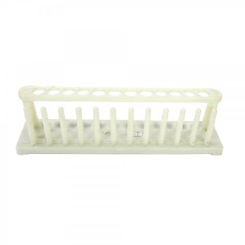 Plastic Test Tube Rack, 4 holes x 20mm & 8 holes x 18mm