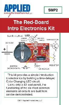 Red-Board Intro to Electronics Kit