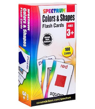 Colors & Shapes (Spectrum Flash Cards)
