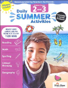 Daily Summer Activities 2-3