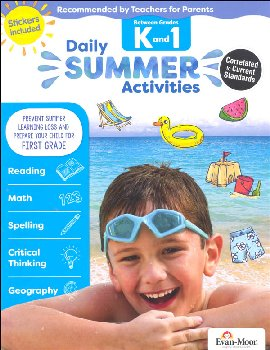 Daily Summer Activities K-1