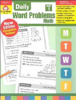 Daily Word Problems Grade 1
