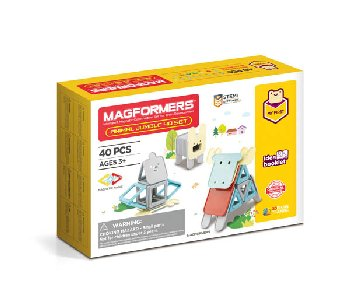 Magformers - Animal Jumble (40 Piece Set)