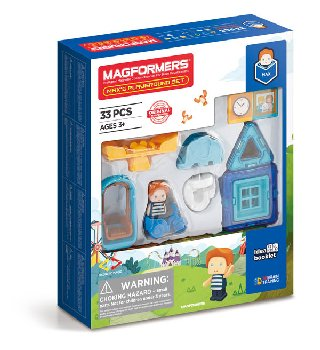Magformers - Max's Playground (33 Piece Set)