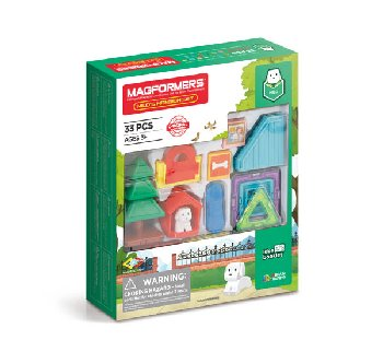 Magformers - Milo's Mansion (33 Piece Set)
