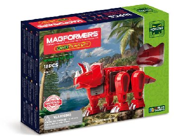 Magformers - Monster Dino Cera (18 Piece Set)