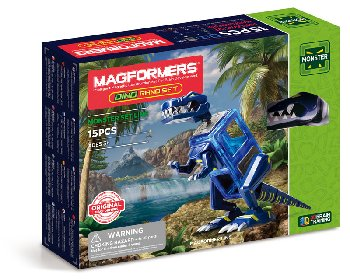 Magformers - Monster Dino Rano (20 Piece Set)