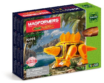 Magformers - Monster Dino Tego (15 Piece Set)