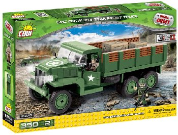 GMC CCKW 353 Transport Truck - 350 pieces (Small Army World War II)