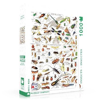 Insects-Insectes 1000 piece Puzzle (Vintage Magazine)