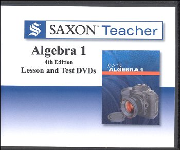Saxon Teacher for Algebra 1 4th Edition DVDs
