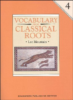 Vocabulary From Classical Roots 4