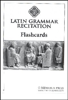 Latin Grammar Recitation Flashcards