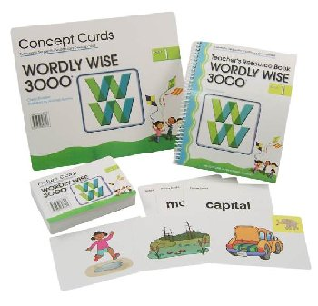 Wordly Wise 3000 1 Teacher Pack