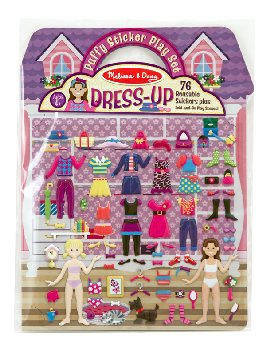 Dress-Up Puffy Sticker Play Set