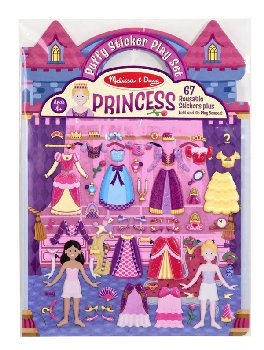 Princess Puffy Sticker Play Set