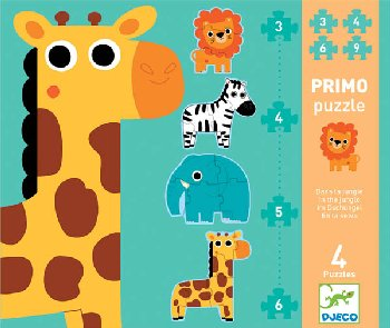 Primo Puzzle - In the Jungle (Progressive Puzzle)