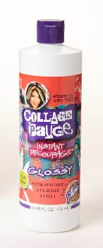 Aleene's Collage Pauge Instant Decoupage - Glossy (16 oz)