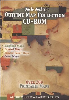 Uncle Josh's Outline Maps CD-ROM