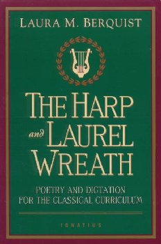 Harp and Laurel Wreath