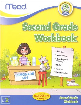 Mead Second Grade Comprehensive Workbook