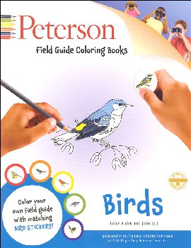 Peterson Field Guide Color-in Book: Birds