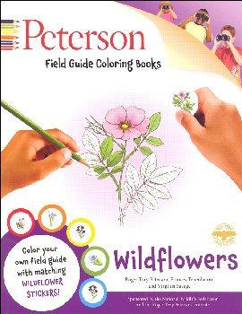 Peterson Field Guide Color-in Book: Wildflowers