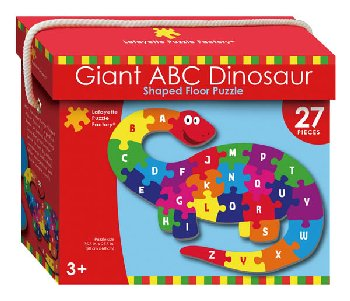 Giant ABC Dinosaur Shaped Puzzle