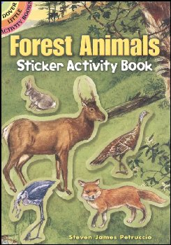Forest Animals Sticker Activity Book
