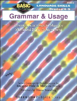 Basic, Not Boring: Grammar and Usage Grades 4-5